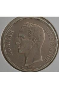 5 Bolivares  - 1901