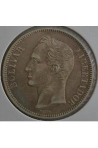 5 Bolivares  - 1902