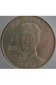 100 Bolivares  - 1980