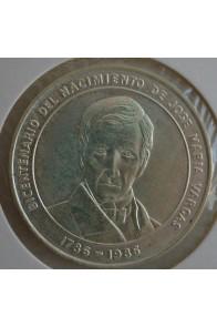 100 Bolivares  - 1986