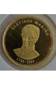 5000 Bolivares  - 1988