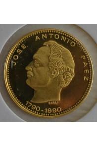 5000 Bolivares  - 1990