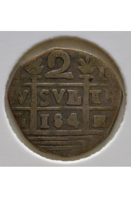 2 Reales  - 1817-21