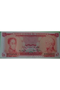 5 Bolívares Septiembre 24 1968 E7