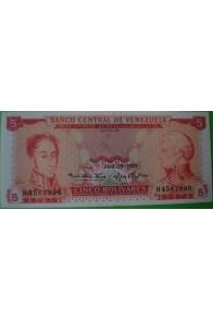 5 Bolívares Abril 29 1969 H7