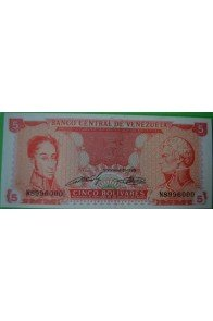 5 Bolívares Septiembre 21 1989 N7