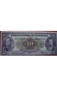 10 Bolívares Octubre 14 1948 Serie B7