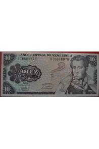 10 Bolívares Octubre 6 1981 Serie B8