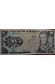 10 Bolívares Octubre 6 1981 Serie C7