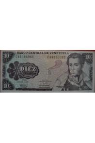 10 Bolívares Octubre 6 1981 Serie C8