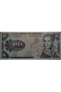 10 Bolívares Octubre 6 1981 Serie D7