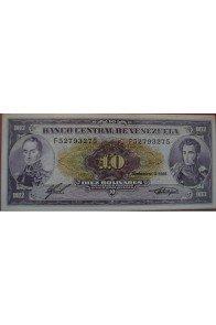 10 Bolívares Noviembre 1988 Serie F8