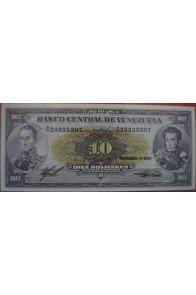 10 Bolívares Noviembre 1988 Serie G8
