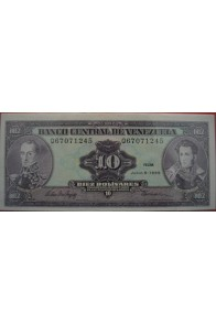 10 Bolívares Junio 5 1995 Serie Q8