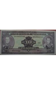 10 Bolívares Junio 5 1995 Serie S8