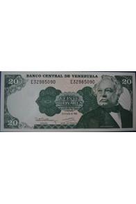 20 Bolívares Diciembre 8 1992 Serie E8
