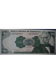 20 Bolívares Diciembre 8 1992 Serie A8
