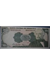 20 Bolívares Julio 5 1995 Serie B8