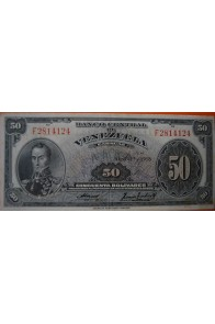 50 Bolívares  Abril 17 958 Serie: F7