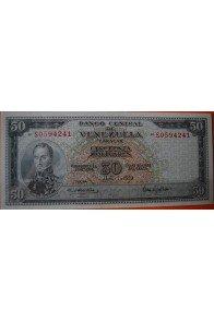 50 Bolívares  Abril 7 1970 Serie: S7