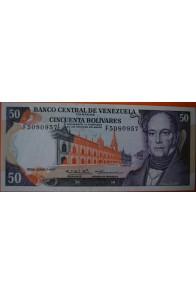 50 Bolívares  Junio 7 1977 Serie: F7