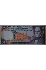 50 Bolívares  Junio 7 1977 Serie: H7