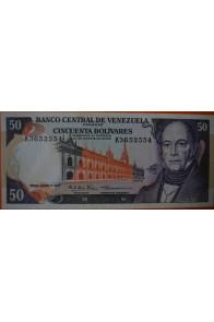 50 Bolívares  Junio 7 1977 Serie: K7