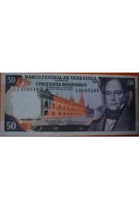 50 Bolívares  Junio 7 1977 Serie: L7