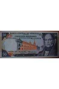 50 Bolívares  Junio 7 1977 Serie: M7