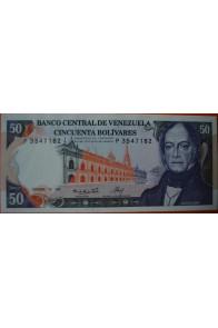 50 Bolívares  Diciembre 10 1985 Serie: P7
