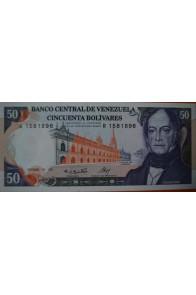 50 Bolívares  Diciembre 10 1985 Serie: R7