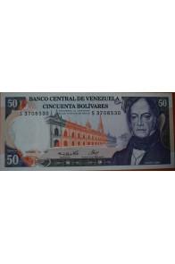 50 Bolívares  Diciembre 10 1985 Serie: S7