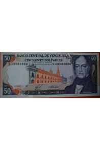 50 Bolívares  Diciembre 10 1985 Serie: S8