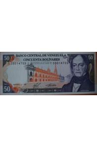 50 Bolívares  Diciembre 10 1985 Serie: T8