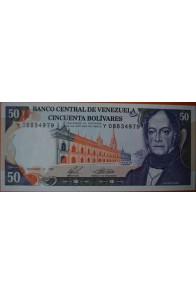 50 Bolívares  Diciembre 10 1985 Serie: Y8