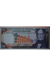 50 Bolívares  Diciembre 10 1985 Serie: A8