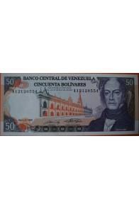 50 Bolívares  Mayo 31 1990 Serie: A8