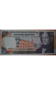50 Bolívares  Mayo 31 1990 Serie: B8