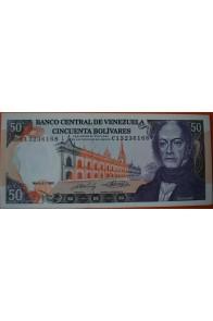 50 Bolívares  Mayo 31 1990 Serie: C8