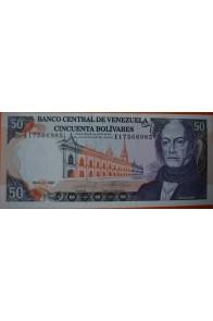 50 Bolívares  Mayo 31 1990 Serie: E8