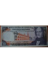 50 Bolívares  Mayo 31 1990 Serie: F8