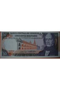 50 Bolívares  Mayo 31 1990 Serie: G8