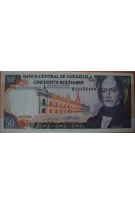 50 Bolívares  Mayo 31 1990 Serie: H8