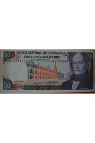 50 Bolívares  Mayo 31 1990 Serie: J8