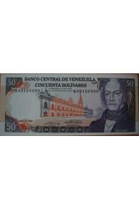 50 Bolívares  Mayo 31 1990 Serie: K8