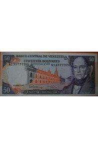 50 Bolívares Diciembre 8 1992 Serie K8