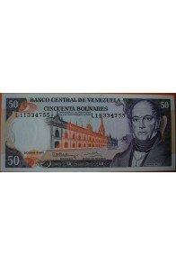 50 Bolívares Diciembre 8 1992 Serie L8