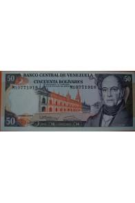 50 Bolívares Diciembre 8 1992 Serie M8