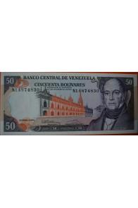 50 Bolívares Diciembre 8 1992 Serie N8