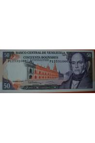 50 Bolívares Diciembre 8 1992 Serie P8